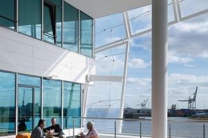 QT-Projekt: Unileverhaus, Hamburg (Behnisch Architeken, Stuttgart)<br />