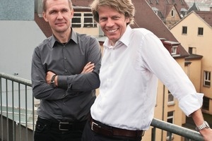Thorsten Helbig und Jan Knippers (v. l.)<br />