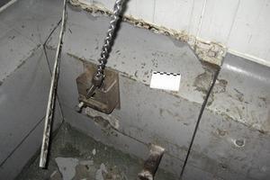 Bild 3: Rammschutz und Sandwich-Wand<br />