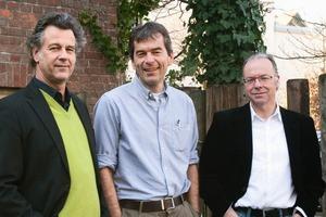 Die Partner (v. l.): Matthias Burkart, Alexander von Salmuth und Ernst Ulrich Tillmanns<br />