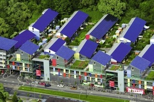Die Solarsiedlung in Freiburg<br />