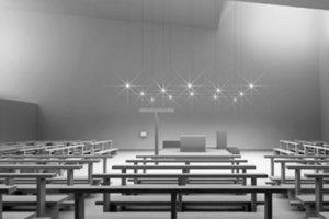 Der Kirchenraum in Neuried setzt auf die Transzendenz des natürlichen Lichtes