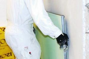 Installation einer Vakuum-Innendämmung in Haus1<br />