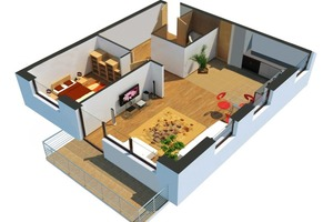 Beispiel für eine assistive Wohnung<br />