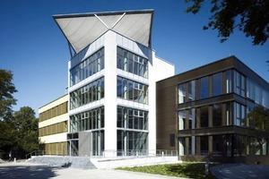 Das Ziel des Fraunhofer inHaus Zentrums, hier Haus2 in Duisburg, ist die zukunftsorientierte Entwicklung und Markteinführung von intelligenten Raum- und Gebäudesystemen für Smart Buildings<br />