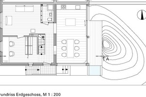 Grundriss Erdgeschoss, M 1:200<br />