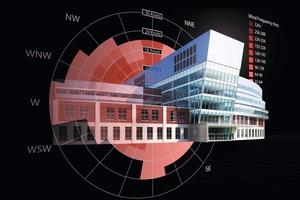 BIM Hospital Simulation: Rendering des BIM City Westside Hospitals (Structural Analysis Professional und Autodesk 3ds Max Design)