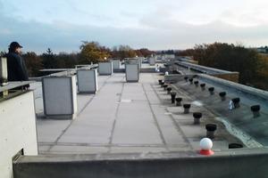 Bei der Sanierung eines Flachdaches mit komplexer Geometrie und<br />zahlreichen Durchdringungen zeigen sich die Vorteile des Laserscannings