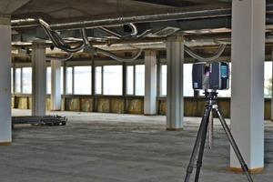 3D-Laserscanner erfassen Fassaden, Räume und sämtliche Einbauten 3-dimensional und vollständig, z.B. auch die Technische Gebäudeausrüstung