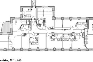 Grundriss, M 1:400