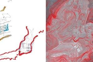 Raumkanten durch Topografie