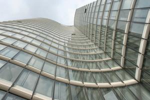 Das Sky-Office in Düsseldorf ist mit 89 m und 23 Etagen das siebthöchste Gebäude der Stadt