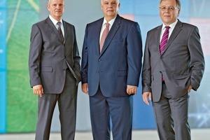 v. l.: Bernd Wagenbach, Norbert Schüßler, Wolfgang Wassmann