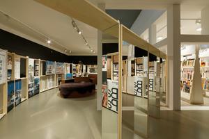 Der erste Geschoss im Deutschen Architekturmuseum in Frankfurt am Main ist seit dem 15. Februar der Architektur und der Verführung gewidmet