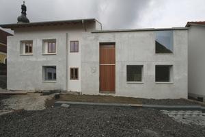 Das Bürgerhaus bildet die neue Platzkante