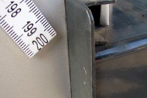 Bild7: Stoß zwischen Lisene und Bordprofil des Fensterblechs