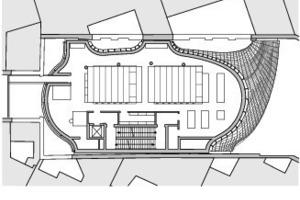 Grundriss 3. Obergeschoss, M 1:750