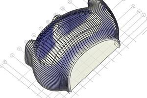 Das Mastermodell macht es auch möglich die verschiedenen 3D-CAD Modelle zu vergleichen und zu integrieren. Dadurch konnten Kollisionen verhindert werden