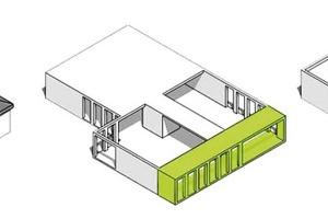 Umbau in drei Schritten: Abriss Dach - Anbau Veranda - Aufstockung und neues Dach