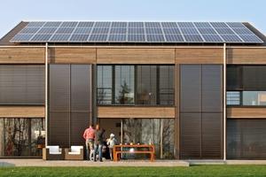 Energieplusgebäude in Leutkirch, Allgäu<br />