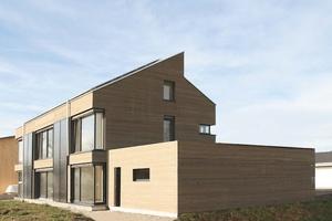 Energieplusgebäude, Leutkirch, Ansicht von Südost