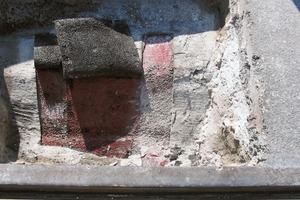 Bild5: Unzureichende Verklebung der Dichtungsschicht am Untergrund
