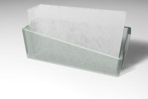 Profilglaselemente mit integrierter transluzenter Wärmedämmung