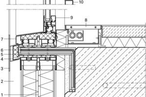 Fassadendetail vertikal, M 1:10