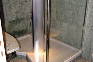 Bild1: Überblick über die Dusche