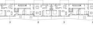 7. Obergeschoss, M 1:750