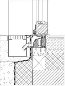 Anschluss terrassentür barrierefrei