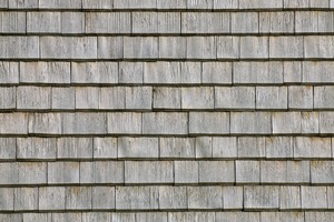 Die Fassadenschindeln aus Weißtanne