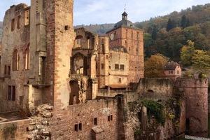 Die Ausmaße der gesamten Schlossanlage kann man heute noch erahnen