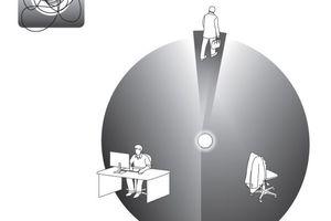 """Der """"Connector"""" verbringt die meiste Zeit im Büro"""