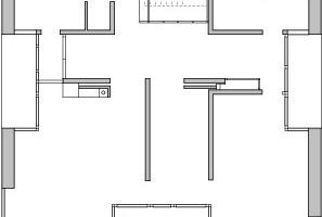 Erdgeschoss, M 1:250