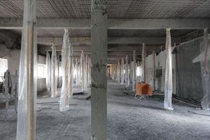 Eigentlich unmögliche Deckenaufbauten müssen aufwendig unterfangen beziehungsweise untergossen werden