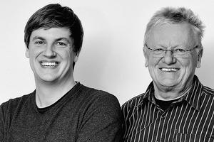 """<div class=""""fliesstext_vita""""><strong>KÜHNLEIN Architekten</strong><br />vl.n.r.: Michael Kühnlein jun., Michael Kühnlein sen. <br />Michael Kühnlein sen. gründete sein eigenes Architekturbüro KÜHNLEIN Architekten 1982. Seit 2012 führt er das Büro in Berching gemeinsam mit seinem Sohn Michael Kühnlein jun.</div>"""