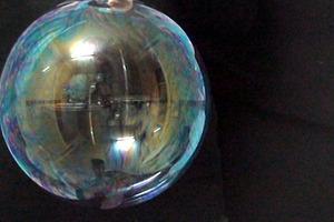 Eine Seifenblase wird zur Weltkugel, Sophia Pompéry