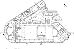 Erdgeschoss, M 1:600<br />