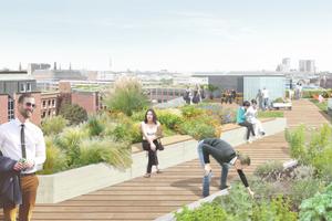 Eine grüne Vision vom Süden der Stadt