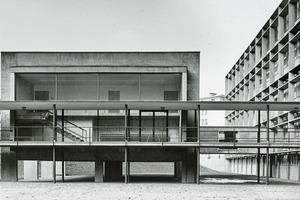 Historische Aufnahme des Instituts für Pharmazie und Lebensmittelchemie der Goethe-Universität Frankfurt a.M.