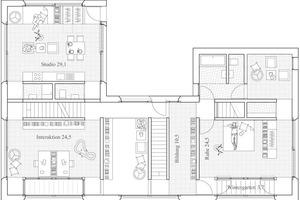 Grundriss-Ausschnitt Ebene 4<br />