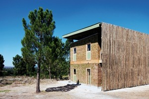Wohnhaus für ehrenamtliche Helfer im Village of Hope in Grabouw bei Kapstadt – ein Studierendenprojekt der Universität Stuttgart. Weitere Wohngebäude sollen folgen<br />