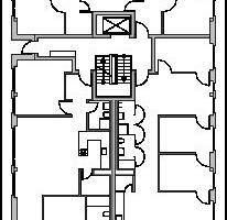 5. Obergeschoss, M 1:500