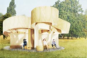 Serpentine Summer House 2016 von Barkow Leibinger