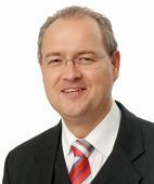 Jürgen F. J. Mintgens moderiert die Diskussion