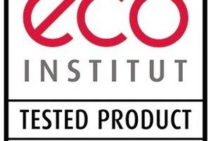"""Baustofflabel<br />Aus der Vielzahl der Baustofflabel wurden drei Zeichen ausgewählt, die hohe Standards für die Innenraumhygiene beinhalten.<br />eco-Institut Tested Product Das Label """"Eco Institut Tested Product"""" beschränkt sich auf die Schadstoff- und Emissionsprüfung. Im Baubereich existieren Prüfrichtlinien für Anstrich- und Beschichtungsmittel, Dicht- und Klebstoffe, Holzwerkstoffe/Ausbauplatten, Holzfußböden, Laminat, Paneele sowie mineralische Bauprodukte, insgesamt tragen rund 50 Produkte das eco-Zeichen. Die private Eco-Institut GmbH gehört zu den renommierten Prüfinstituten für Schadstoffkontrollen in Deutschland. Alle Prüfkriterien sowie die Liste aller getesteten Produkte sind öffentlich, eine Volldeklaration der Einsatzstoffe obligatorisch. Alle zwei Jahre werden ausgezeichnete Produkte neu geprüft. www.eco-institut.de. <br />"""