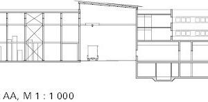 Querschnitt, M 1:1000