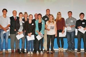 Die Preisträger des Studierendenwettbewerbs