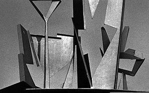 """Skulptur"", Ausstellung ""my home is my factory"""